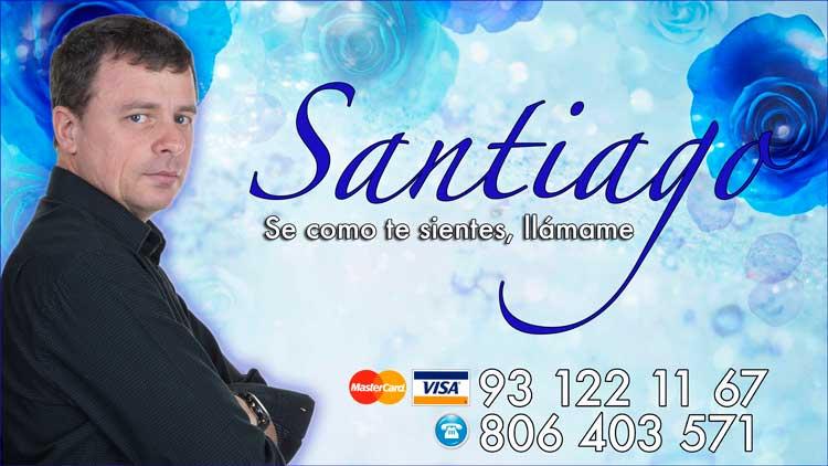 Santiago clarividente sin gabinete