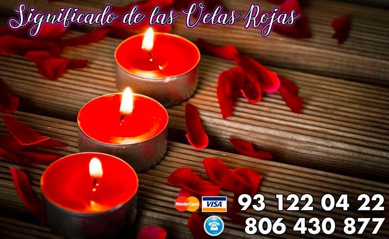significado de las velas rojas para rituales